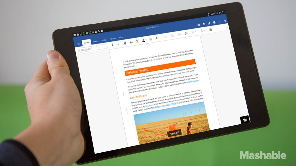 Microsoft unveils free new office apps for iphone and android - Office apps for android free ...